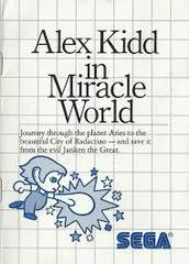 Alex Kidd In Miracle World - Instructions | Alex Kidd in Miracle World Sega Master System