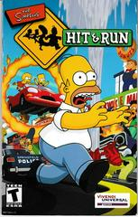 Manual - Front | The Simpsons Hit and Run Playstation 2