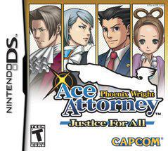 Phoenix Wright Justice for All Nintendo DS Prices