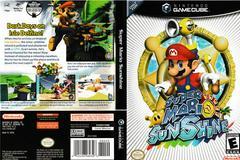 Artwork - Back, Front | Super Mario Sunshine Gamecube
