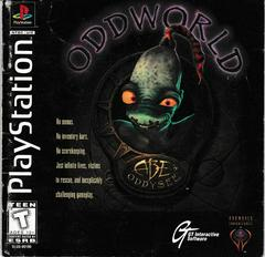 Manual - Front | Oddworld Abe's Oddysee Playstation