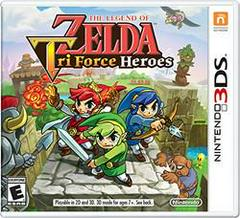 Zelda Tri Force Heroes Nintendo 3DS Prices