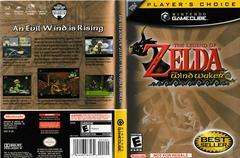 Artwork - Back, Front (Not For Resale) | Zelda Wind Waker Gamecube