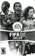 Manual - Front   FIFA 08 Playstation 2
