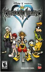 Manual - Front   Kingdom Hearts Playstation 2