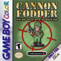 Cannon Fodder GameBoy Color Prices