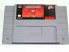 Grey Cartridge (Later Print) | Spiderman Maximum Carnage Super Nintendo