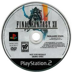 FF XII Playable Demo Disc | Dragon Quest VIII: Journey of the Cursed King Playstation 2