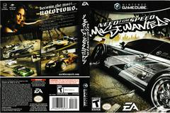 Artwork - Back, Front | Need for Speed Most Wanted Gamecube