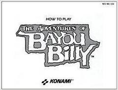 Adventures Of Bayou Billy - Instructions   Adventures of Bayou Billy NES