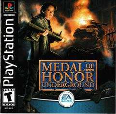 Manual - Front | Medal of Honor Underground Playstation