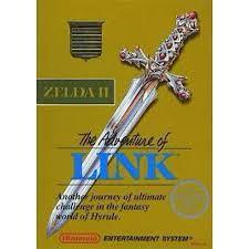 Zelda II The Adventure Of Link - Front | Zelda II The Adventure of Link NES