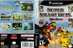 Artwork - Back, Front | Super Smash Bros. Melee Gamecube