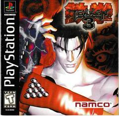 Manual - Front | Tekken 3 Playstation
