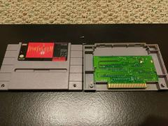 Final Fantasy 2 Cartridge Label And Board Back | Final Fantasy II Super Nintendo