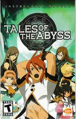 Manual - Front | Tales of the Abyss Playstation 2