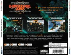 Back Of Case | Virtual-On Oratorio Tangram Sega Dreamcast