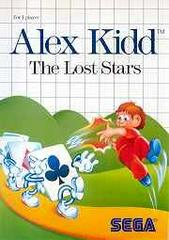 Alex Kidd The Lost Stars - Front | Alex Kidd the Lost Stars Sega Master System
