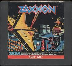 Zaxxon - Cartridge | Zaxxon Atari 5200