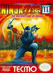 Ninja Gaiden III Ancient Ship of Doom NES Prices