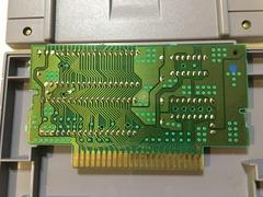 Circuit Board Back   Mortal Kombat II Super Nintendo