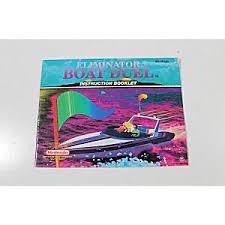 Eliminator Boat Duel - Instructions   Eliminator Boat Duel NES