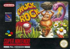 Chuck Rock PAL Super Nintendo Prices