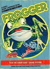 Frogger - Front   Frogger Atari 5200