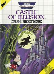 Castle Of Illusion - Front   Castle of Illusion Sega Master System