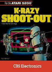 K-razy Shoot-Out Atari 5200 Prices