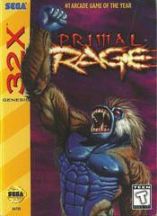 Primal Rage - Front | Primal Rage Sega 32X