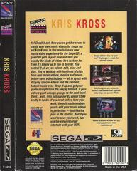 Kris Kross: Make My Video - Back | Kris Kross: Make My Video Sega CD