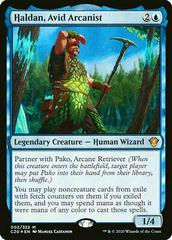 Haldan, Avid Arcanist Magic Commander 2020 Prices