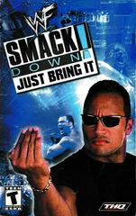 Manual - Front | WWF Smackdown Just Bring It Playstation 2