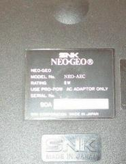 USA Model Number | Neo Geo System Neo Geo AES