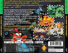 Back Of Case | CTR Crash Team Racing [Greatest Hits] Playstation