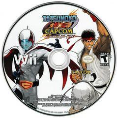 Game Disc   Tatsunoko vs. Capcom: Ultimate All Stars Wii