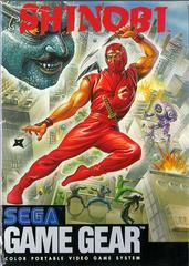 Front Cover | Shinobi Sega Game Gear