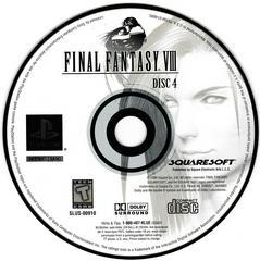 Game Disc 4 | Final Fantasy VIII Playstation