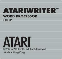 Cart | Atariwriter Atari 400