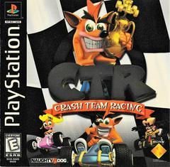 Manual - Front | CTR Crash Team Racing Playstation
