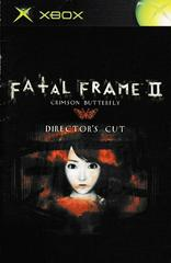Manual - Front | Fatal Frame 2 Xbox