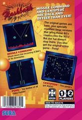 Arcade Classics - Back | Arcade Classics Sega Game Gear
