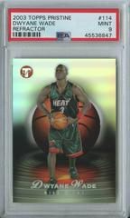 Dwyane Wade [Refractor] Basketball Cards 2003 Topps Pristine Prices