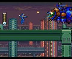 Screenshot | Mega Man X Super Nintendo
