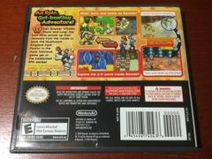 Back Cover | Mario & Luigi: Bowser's Inside Story Nintendo DS