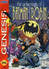 Adventures Of Batman And Robin - Front | Adventures of Batman and Robin Sega Genesis