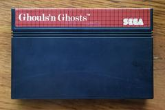 Cartridge Front | Ghouls N Ghosts Sega Master System
