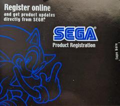 Registration Card - Front   Skies of Arcadia Legends Gamecube