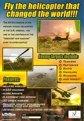 Back Cover | Apache AH-64 Air Assault PC Games